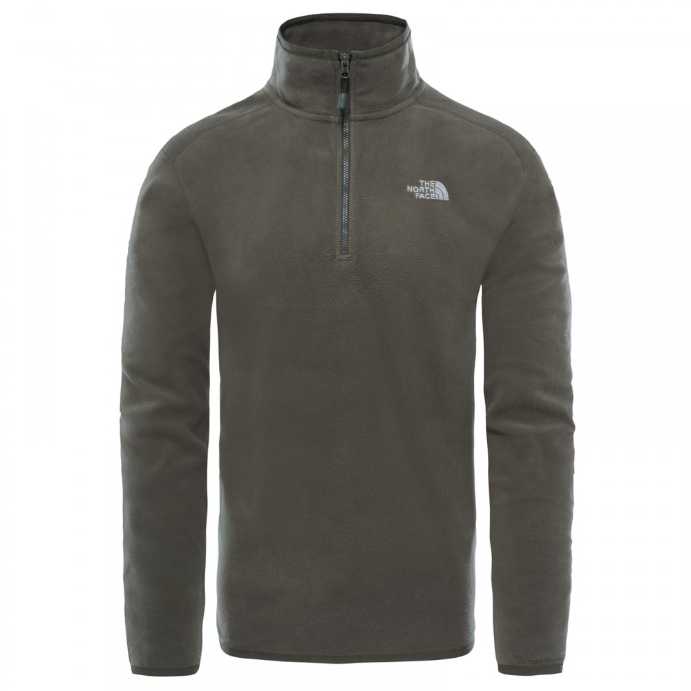The North Face Mens 100 Glacier 1 4 Zip Fleece Grape Leaf - Mens ... d8c08f873