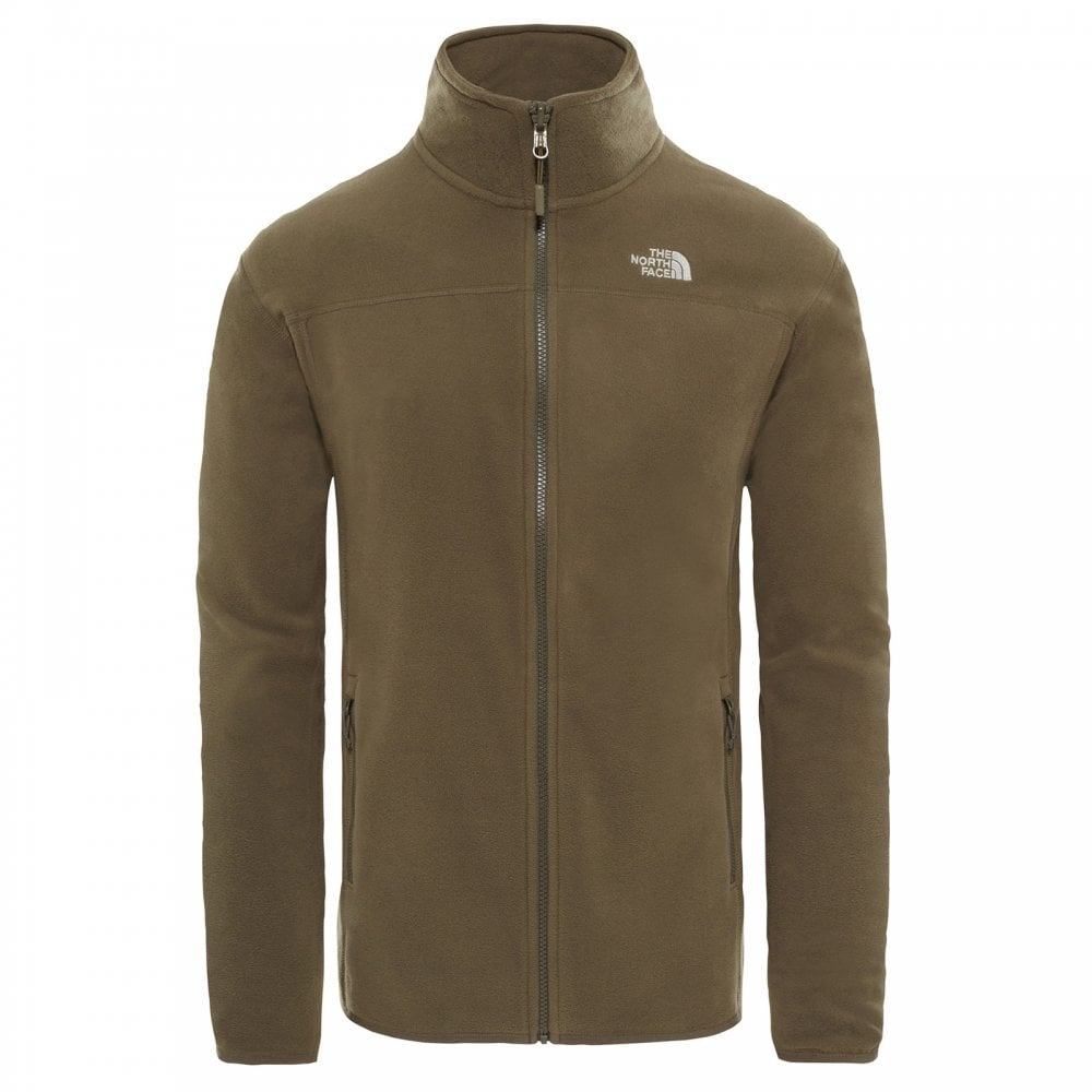 8bb956ca917 The North Face Mens 100 Glacier Full Zip Fleece New Taupe Green ...