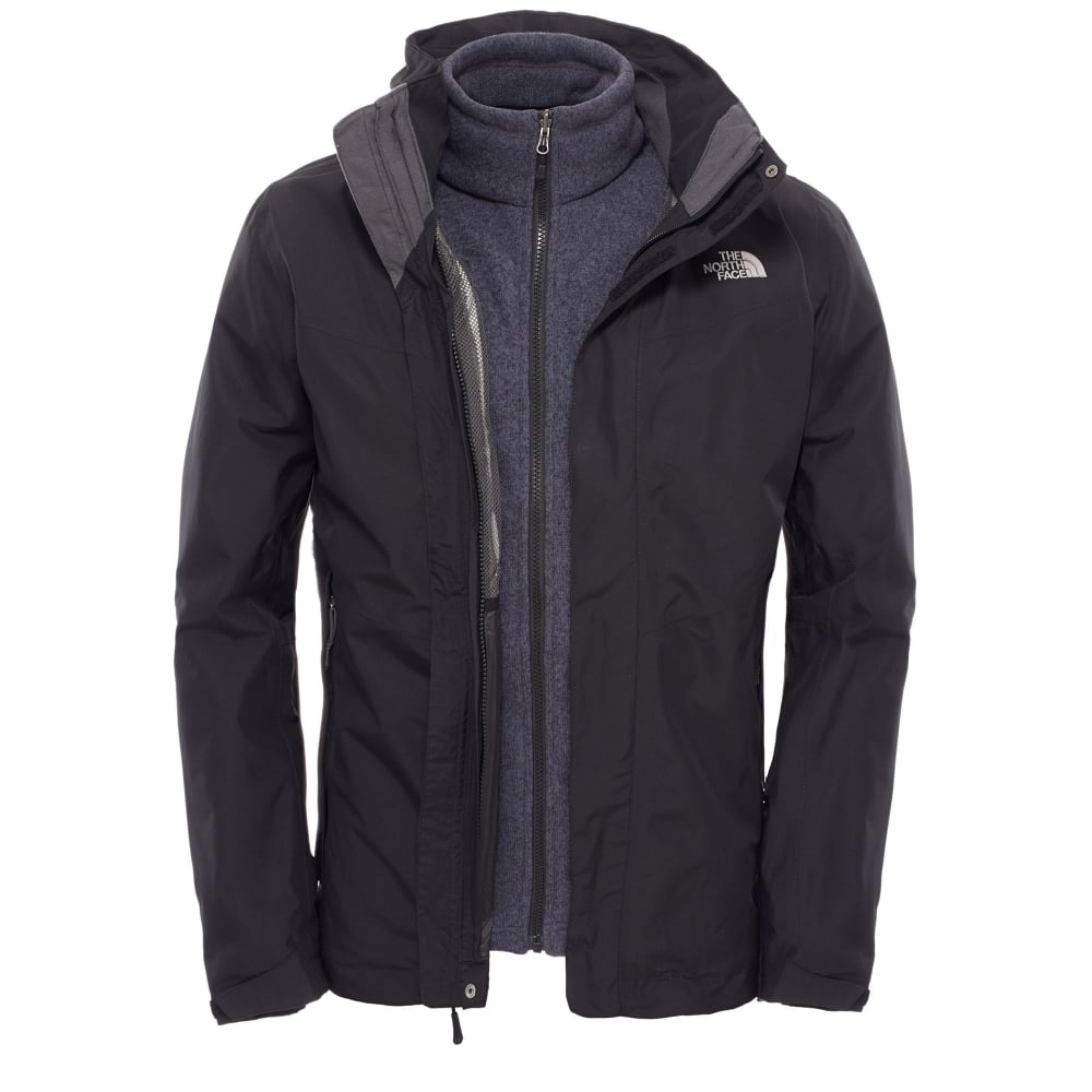 c1eb406f9bc The North Face Mens All Terrain II Triclimate Jacket Black - Mens ...