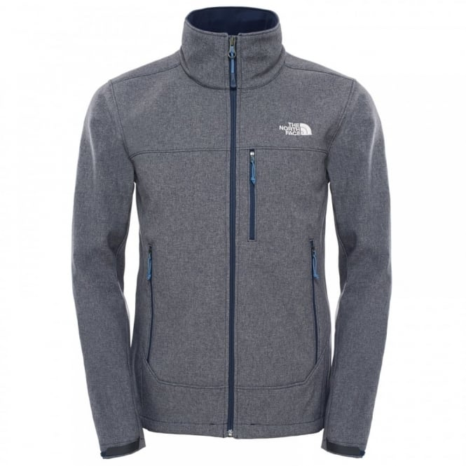 4a8892a3d7f5 The North Face Mens Apex Bionic Softshell Jacket Cosmic Blue - Mens ...