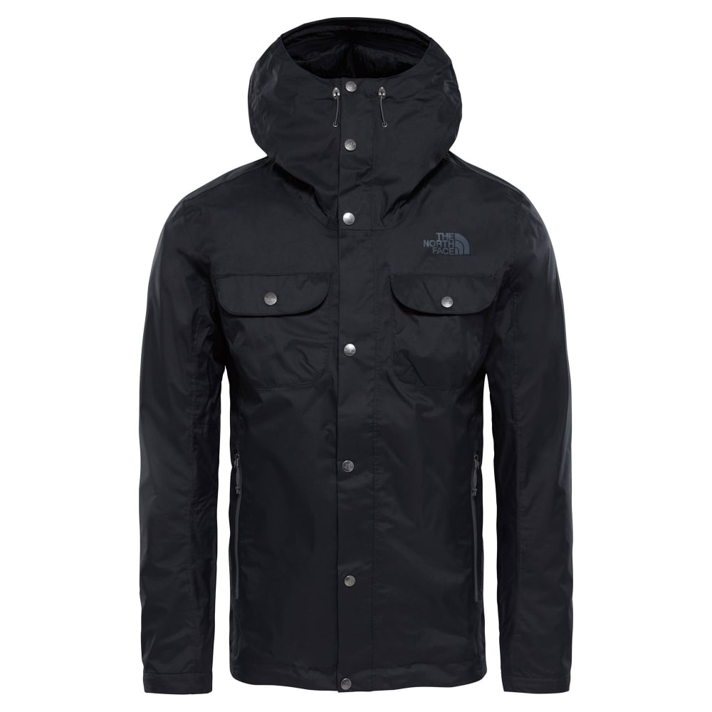 27d3b5e5fcf4 The North Face Mens Arrano Jacket TNF Black - Mens from Great ...