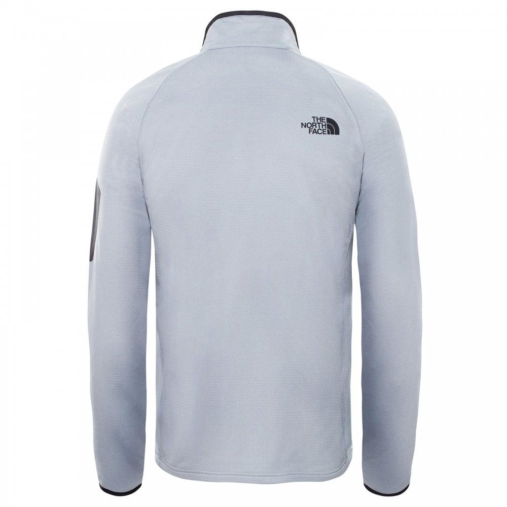 0c0cfed43 Mens Borod Full Zip Fleece Jacket Mid Grey