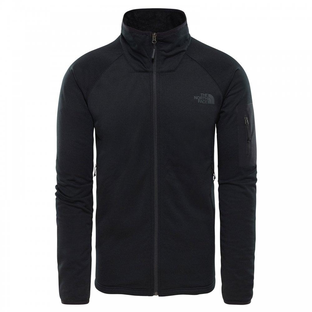 222c28660 Mens Borod Full Zip Fleece Jacket TNF Black/TNF Black