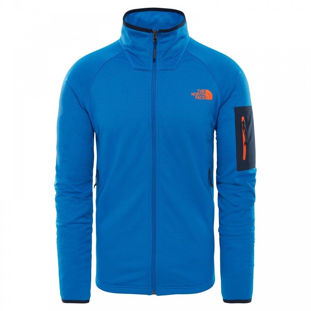 7de1a528a Mens Borod Full Zip Fleece Jacket Turkish Sea/Urban Navy/Persian Orange