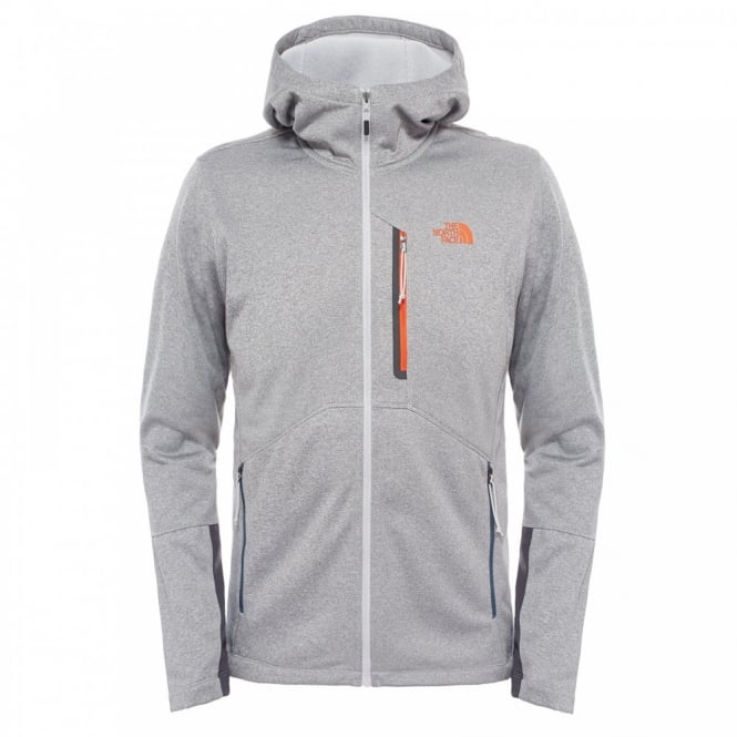The North Face Mens Canyonlands Fleece Hoodie High Rise Grey - Mens ... 6614599ea