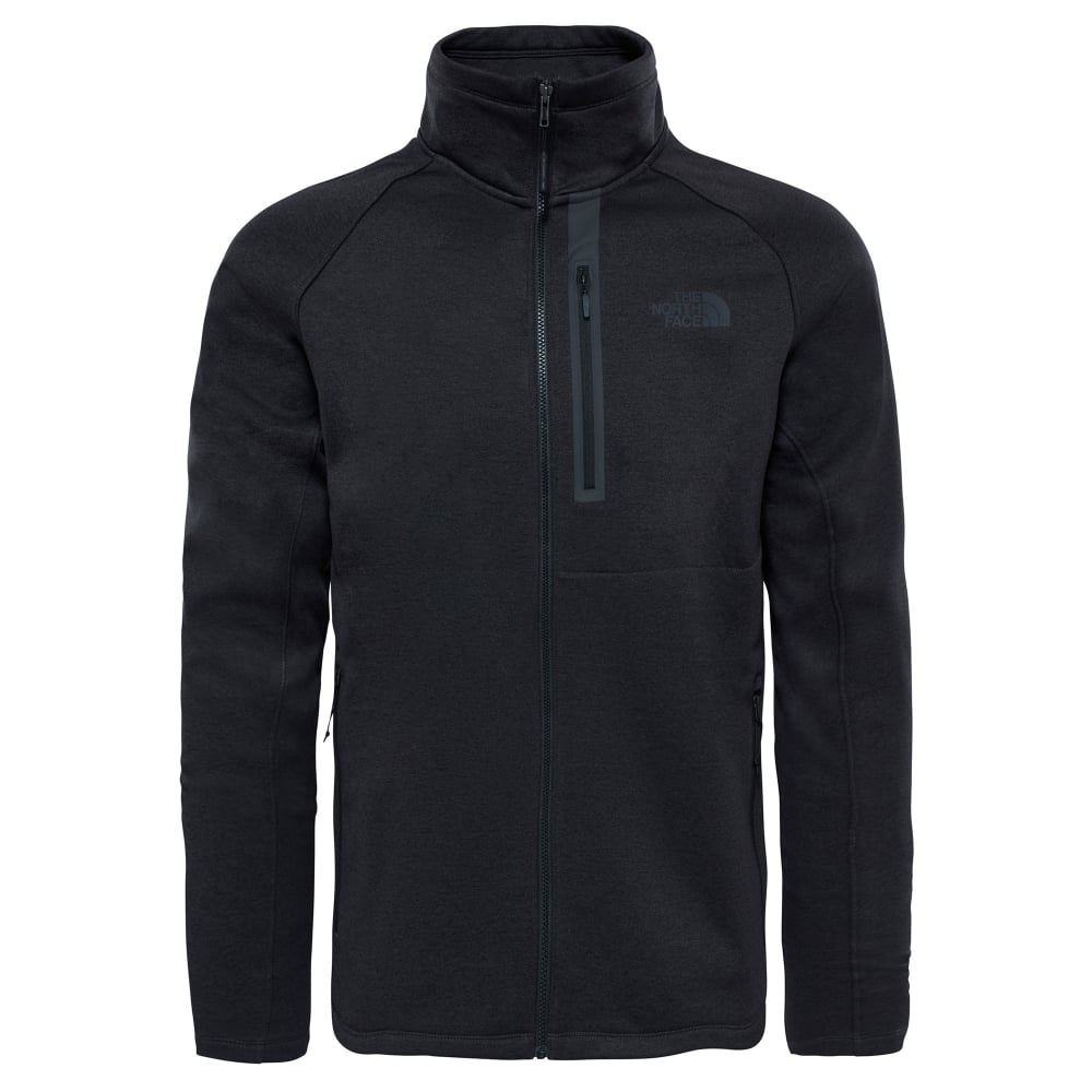 78e98e4eb5f2 The North Face Mens Canyonlands Full Zip Fleece Black - Mens from ...
