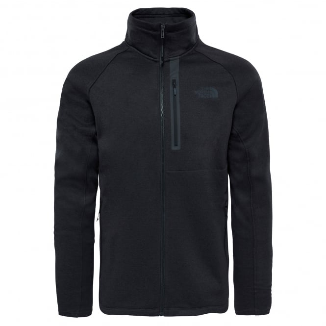 The North Face Mens Canyonlands Full Zip Fleece Black