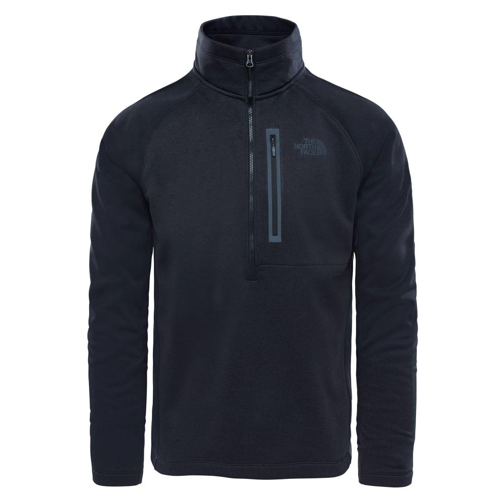 35083f32c Mens Canyonlands Half Zip Fleece Black