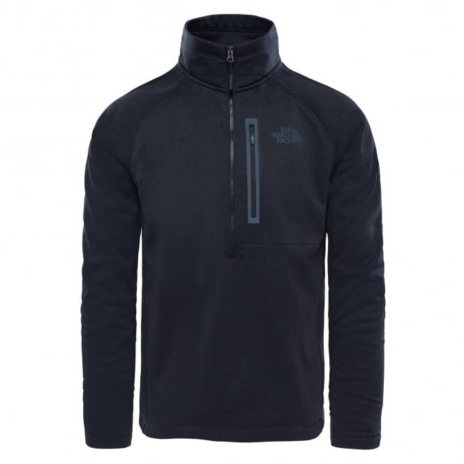 The North Face Mens Canyonlands Half Zip Fleece Black