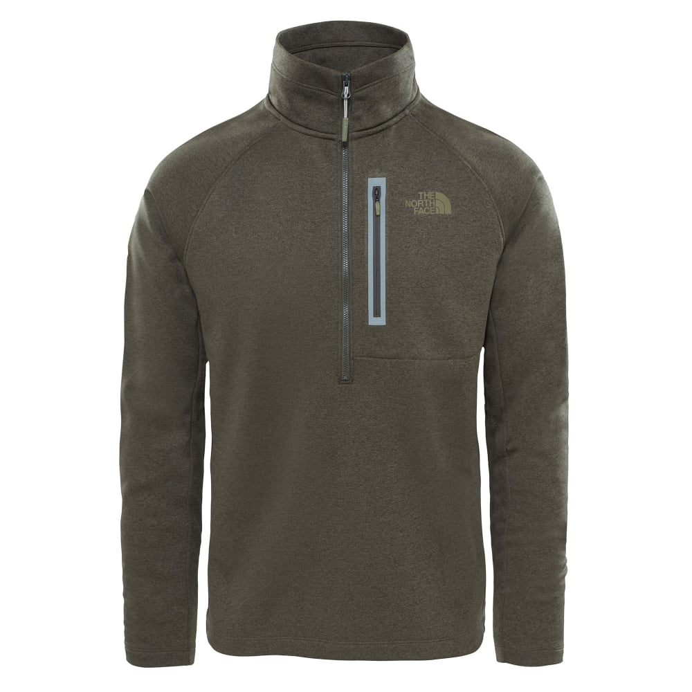 The North Face Mens Canyonlands Half Zip Fleece New Taupe Green ... 03e38c3cb