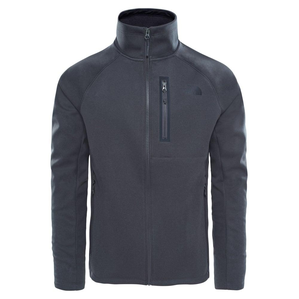 1f7e89fb6 Mens Canyonlands Softshell Jacket TNF Dark Grey