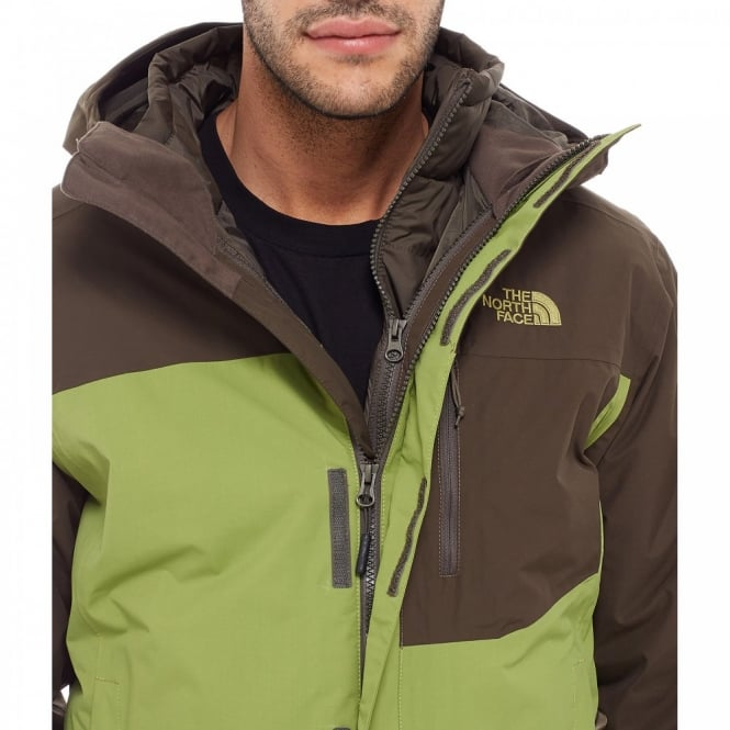 676653f38 The North Face Mens Carto Triclimate Jacket Grip Green