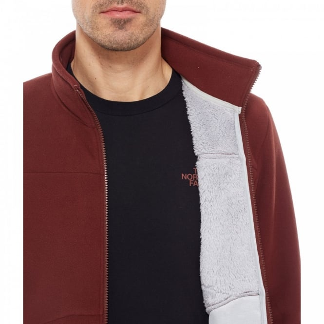 The North Face Mens Chimborazo Fleece Jacket Sequoia Red - Mens from ... 2bc4d205e795