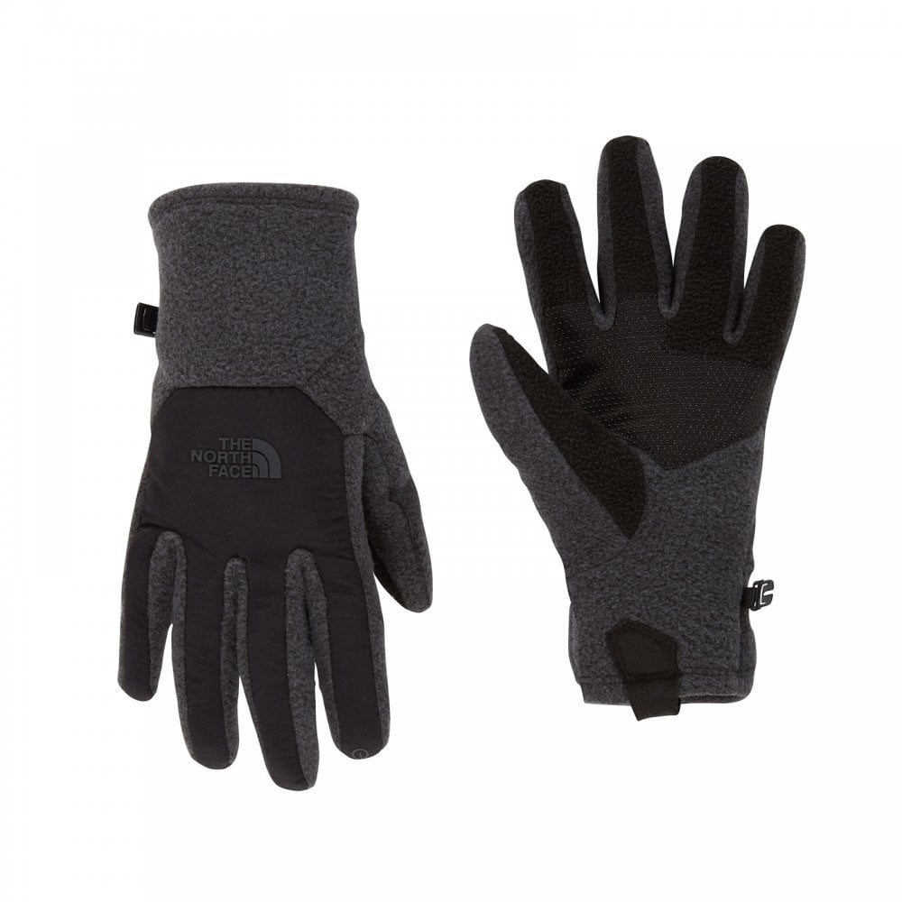 The North Face Mens Denali Etip Glove TNF Dark Grey Heather TNF ... 7f71f16c3e3c