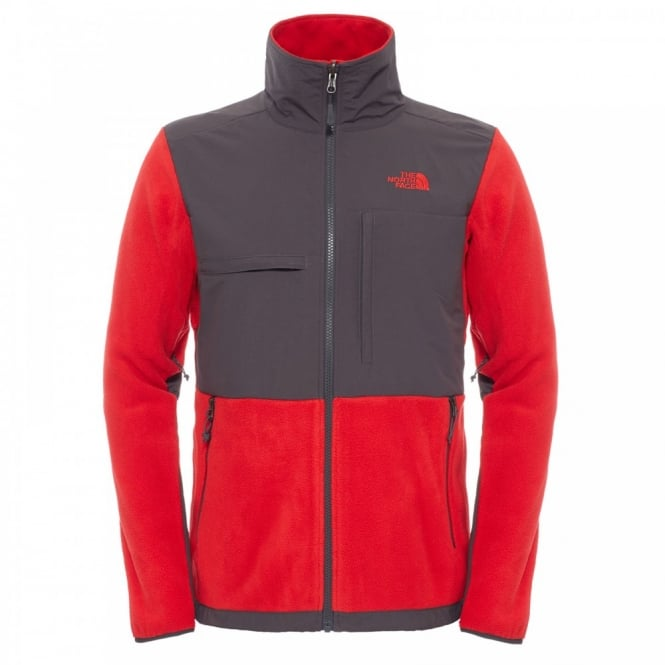 The North Face Mens Denali II Fleece Jacket TNF Red - Mens from ... 29253016a