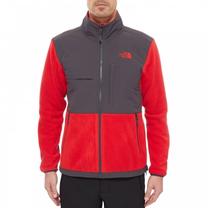 The North Face Mens Denali II Fleece Jacket TNF Red - Mens from ... 9806fefbf
