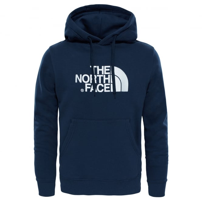 The North Face Mens Drew Peak Pullover Hoodie Urban Navy/White