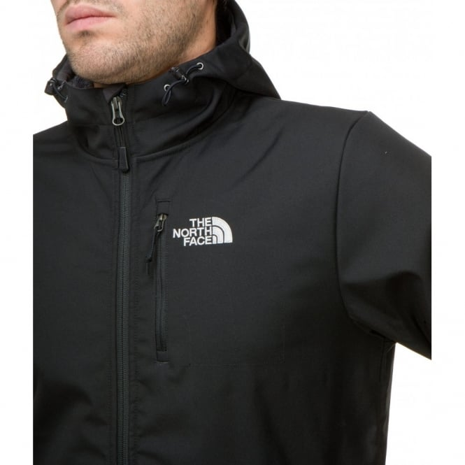278b44286 The North Face Mens Durango Hoodie Softshell Jacket TNF Black