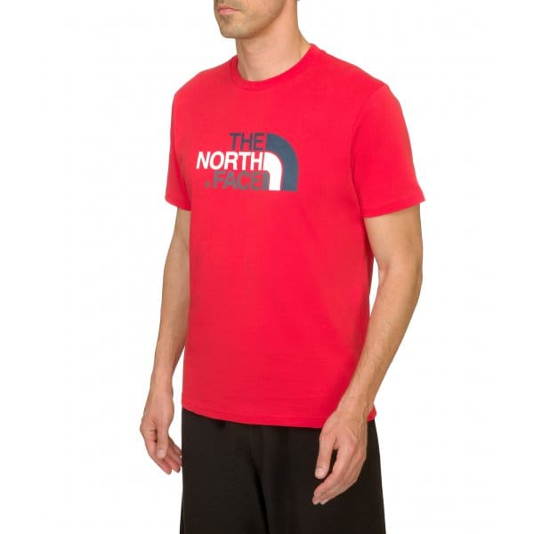 Mens Easy T-Shirt Salsa Red