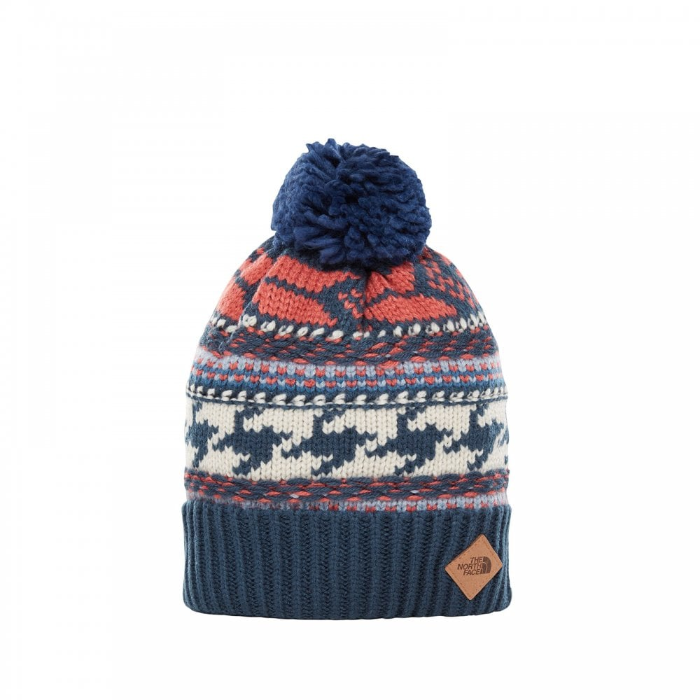84d289a79c21d The North Face Mens Fair Isle Beanie Blue Wing Teal - Mens from ...