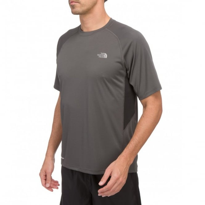 85301426 The North Face Mens Flex Crew T-Shirt Graphite Grey - Mens from ...