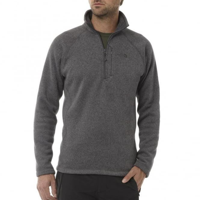 high quality official store more photos The North Face Mens Gordon Lyons 1/4 Zip, Graphite Grey