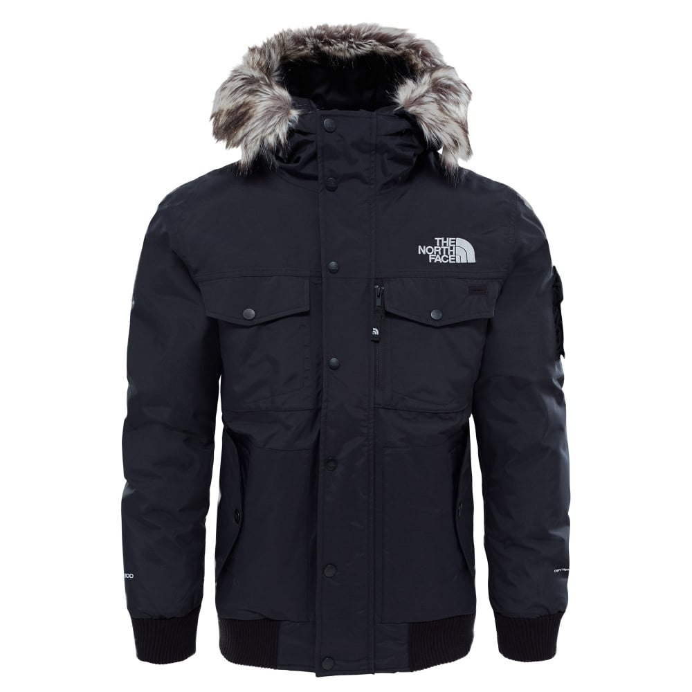 f3e173f716f3 The North Face Mens Gotham Jacket Black High Rise Grey - Mens from ...