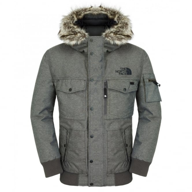 db8a48435 The North Face Mens Gotham Jacket Graphite