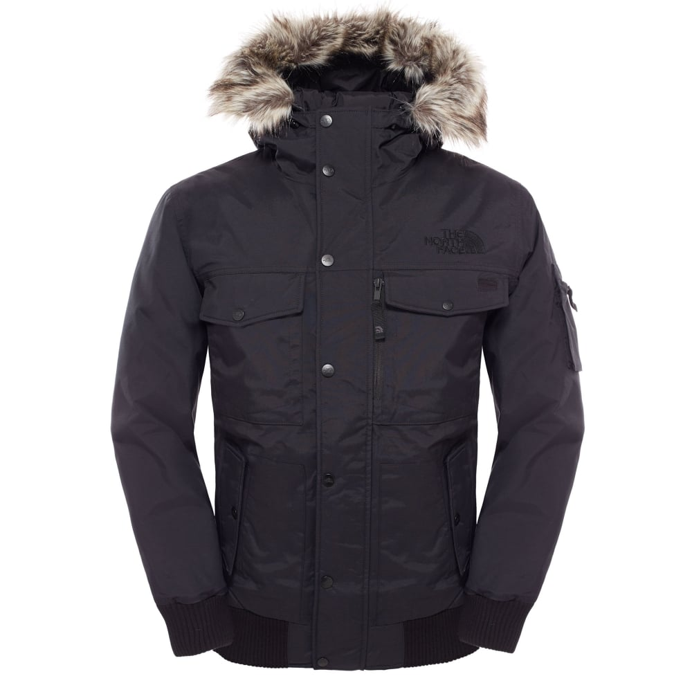 63fdca410 The North Face Mens Gotham Jacket TNF Black