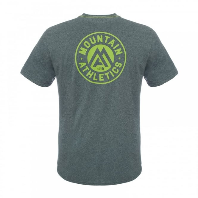 305fff0a8 Mens Graphic Reaxion Amp Crew T-Shirt Spruce Green