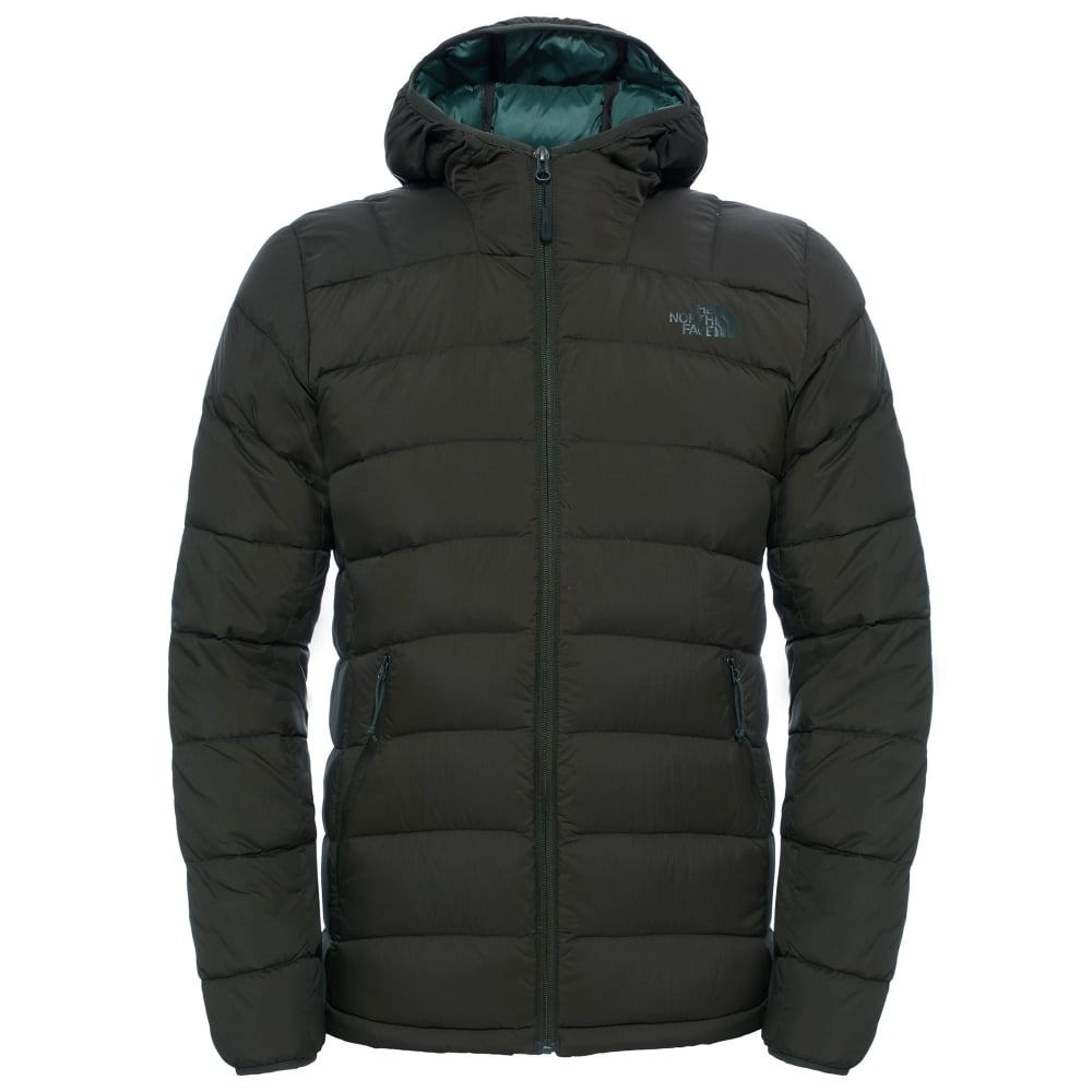 The North Face Mens La Paz Hooded Jacket Rosin Green - Mens from ... 5a1ae337f