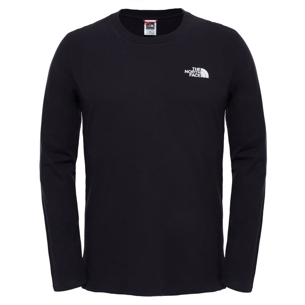 e8b52a8b8 Mens Long Sleeve Easy Tee Black