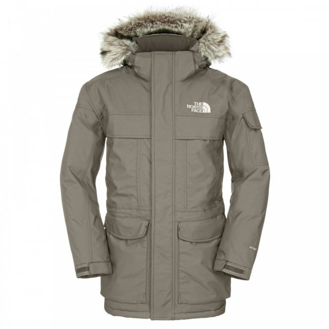 7cc1c712a59 The North Face Mens McMurdo Parka Black Ink Green