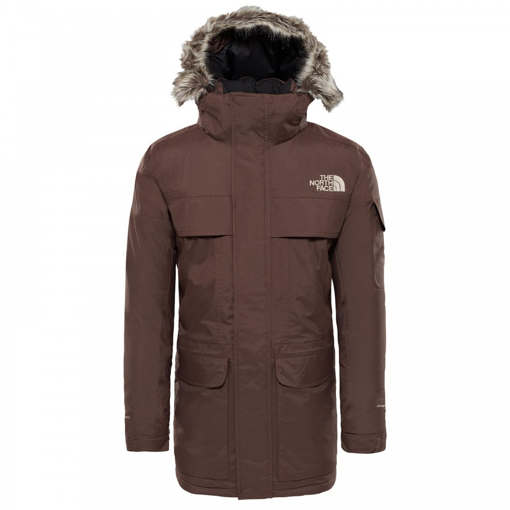 4cbad60e826 The North Face Mens McMurdo Parka Bracken Brown - Mens from Great ...
