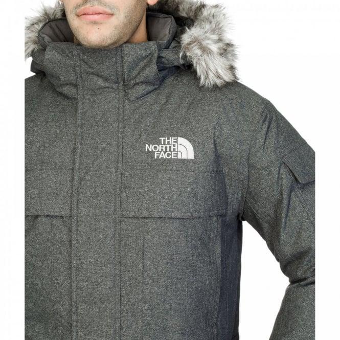 Mens McMurdo Parka Graphite Grey - The North Face Mens McMurdo Parka Graphite Grey - Mens From Great