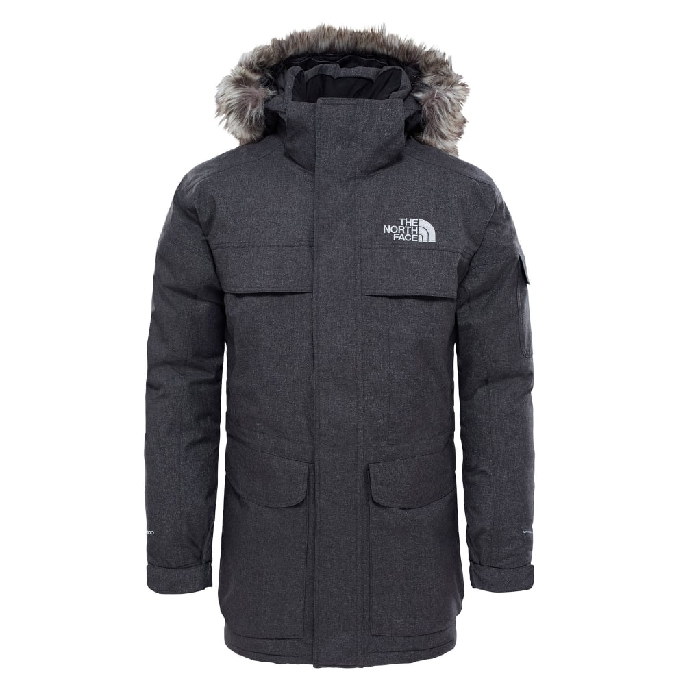 7c2a45cb1379 The North Face Mens McMurdo Parka TNF Dark Grey - Mens from Great ...