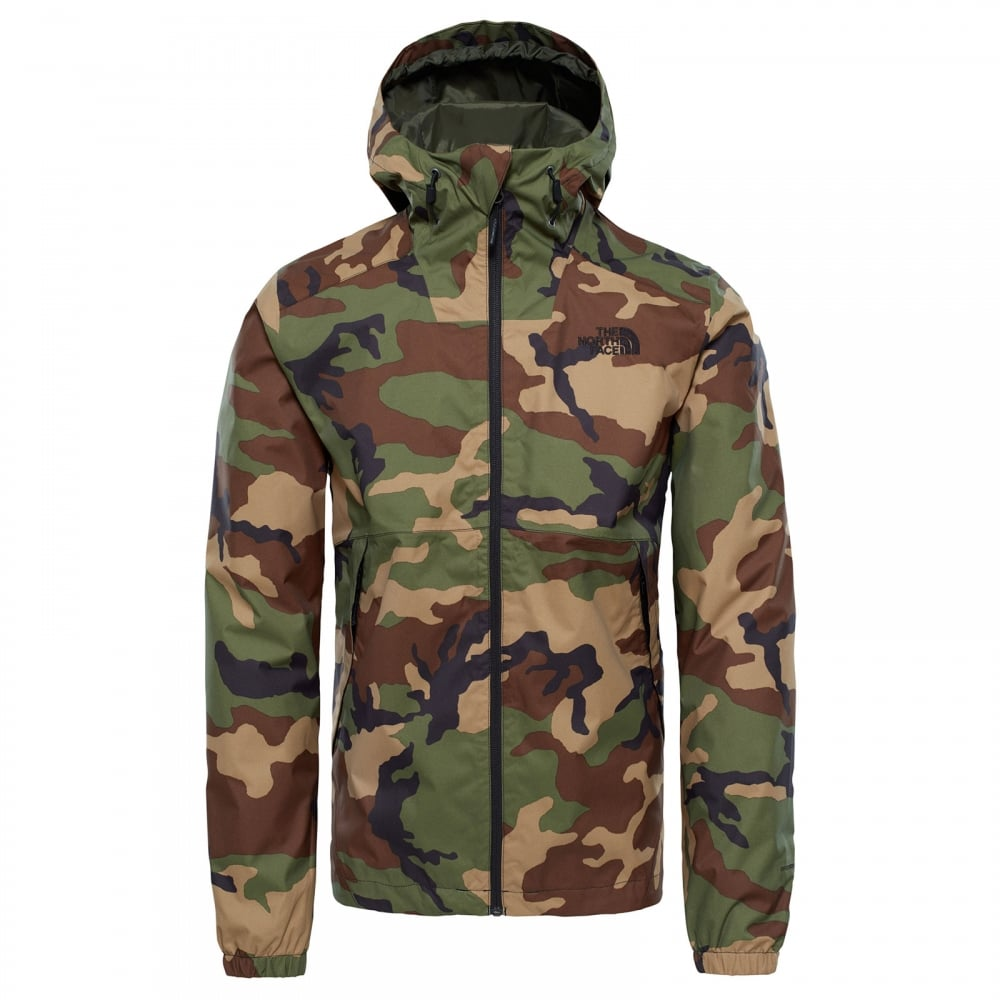 The North Face Mens Millerton Jacket Green Camo - Mens from Great ... 73a6f58965b9