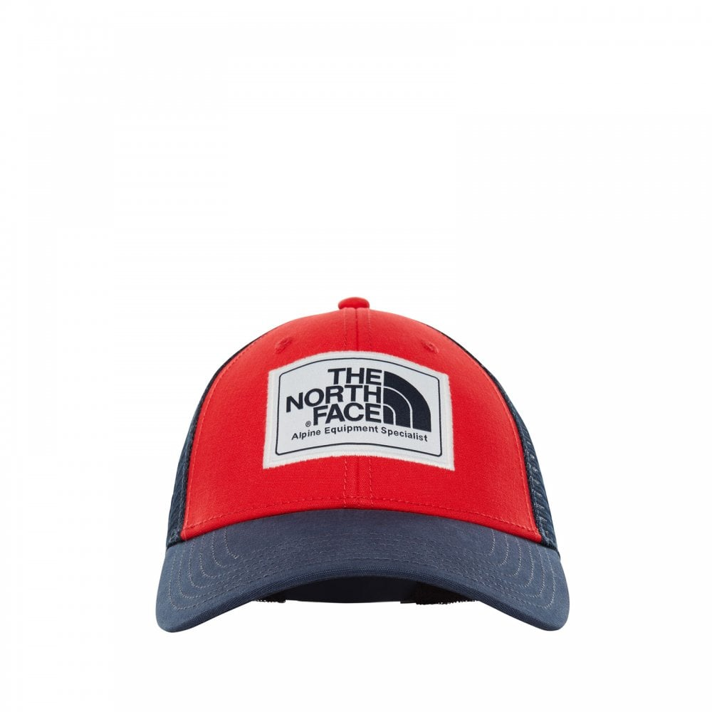 ce4e9ced09f97a The North Face Mens Mudder Trucker Hat Red/Urban Navy - Mens from ...