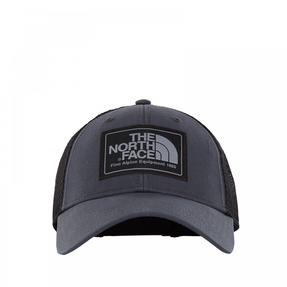 The North Face Mens Mudder Trucker Hat Weathered Black - Mens from ... d546dae846b1