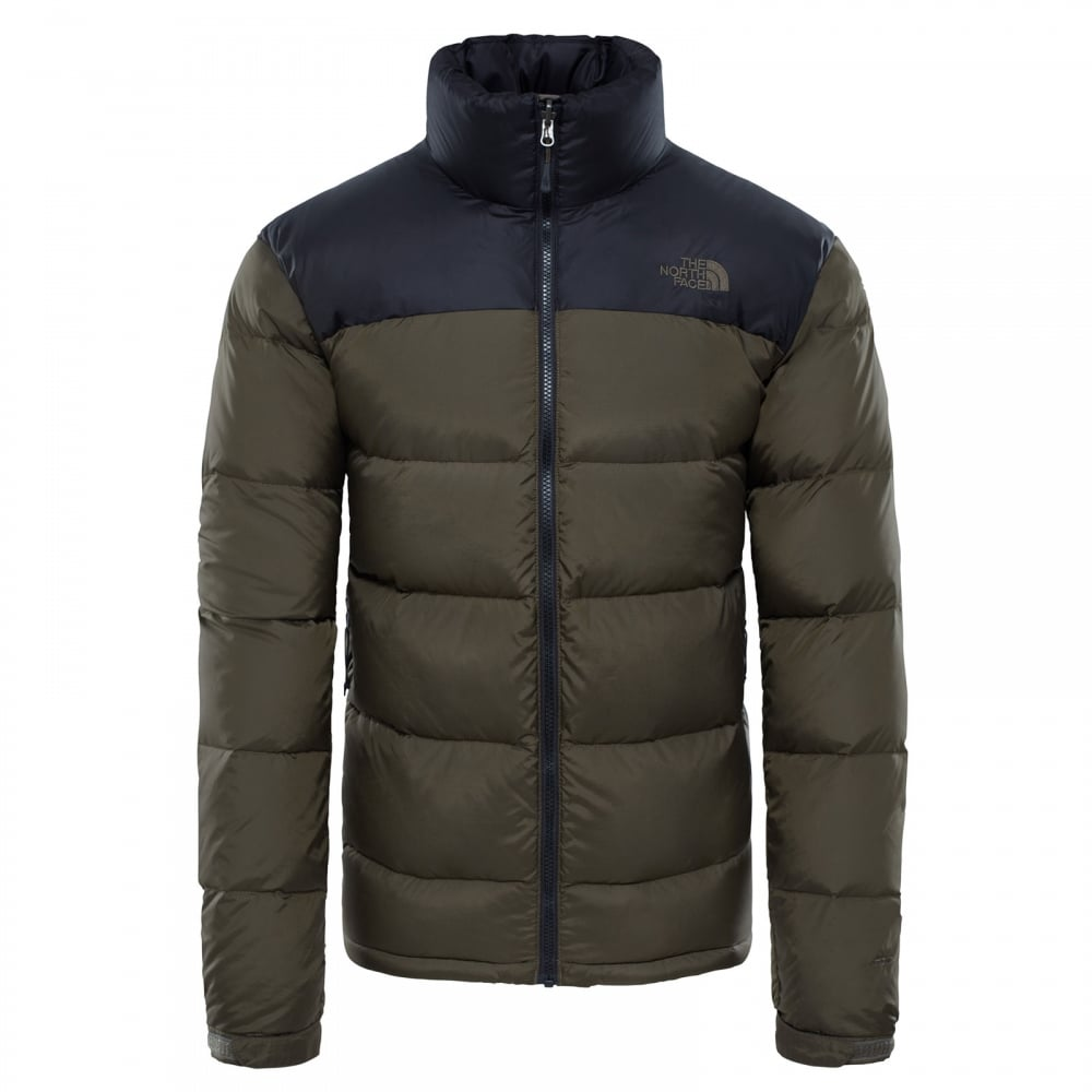 e78157b196c5 The North Face Mens Nuptse 2 Jacket TNF Black New Taupe Green - Mens ...