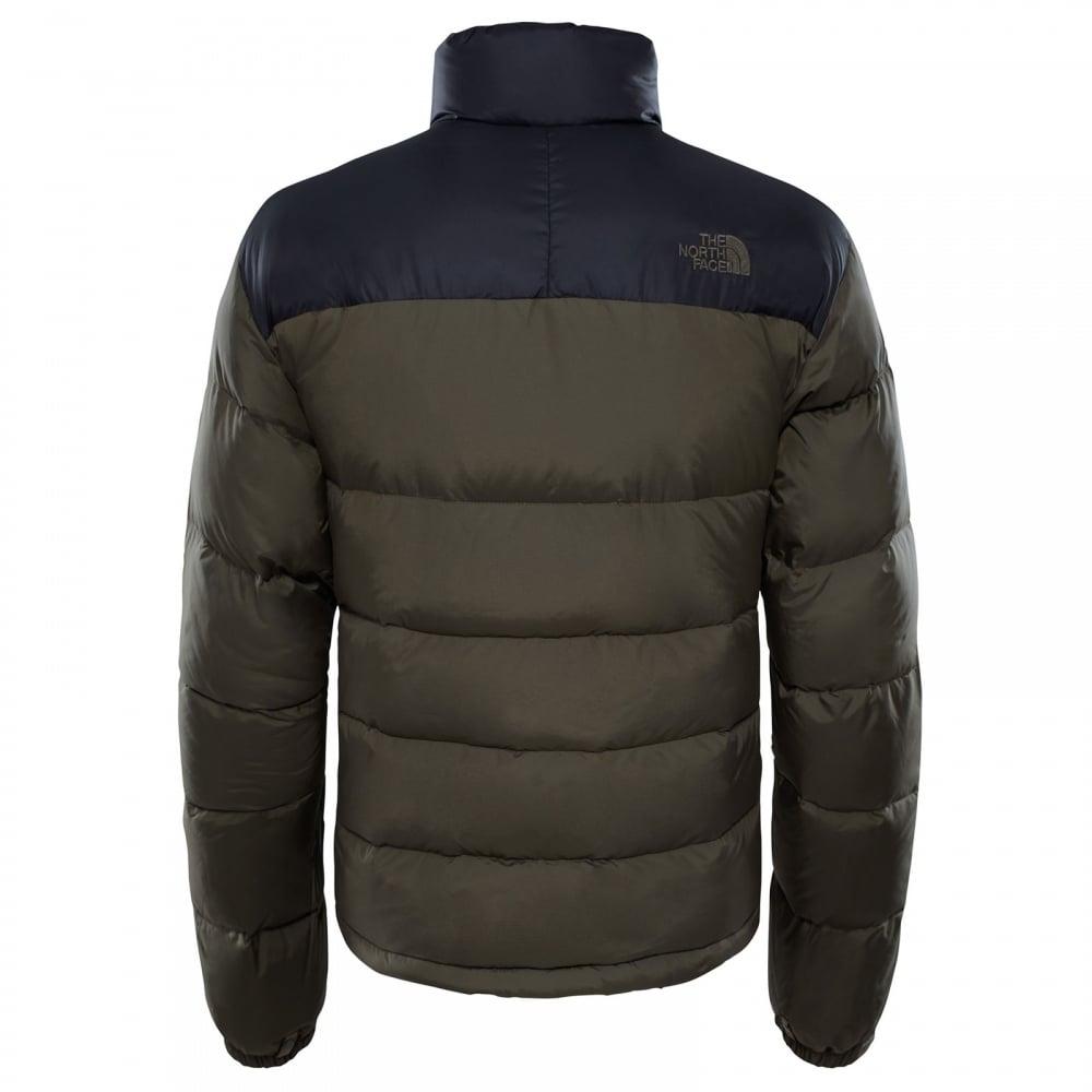 b156e8c06e2c The North Face Mens Nuptse 2 Jacket TNF Black New Taupe Green - Mens ...