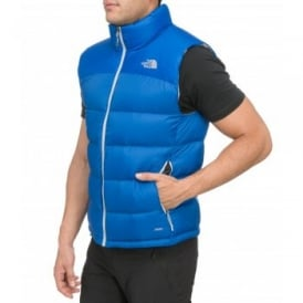Mens Nuptse II Vest Nautical Blue
