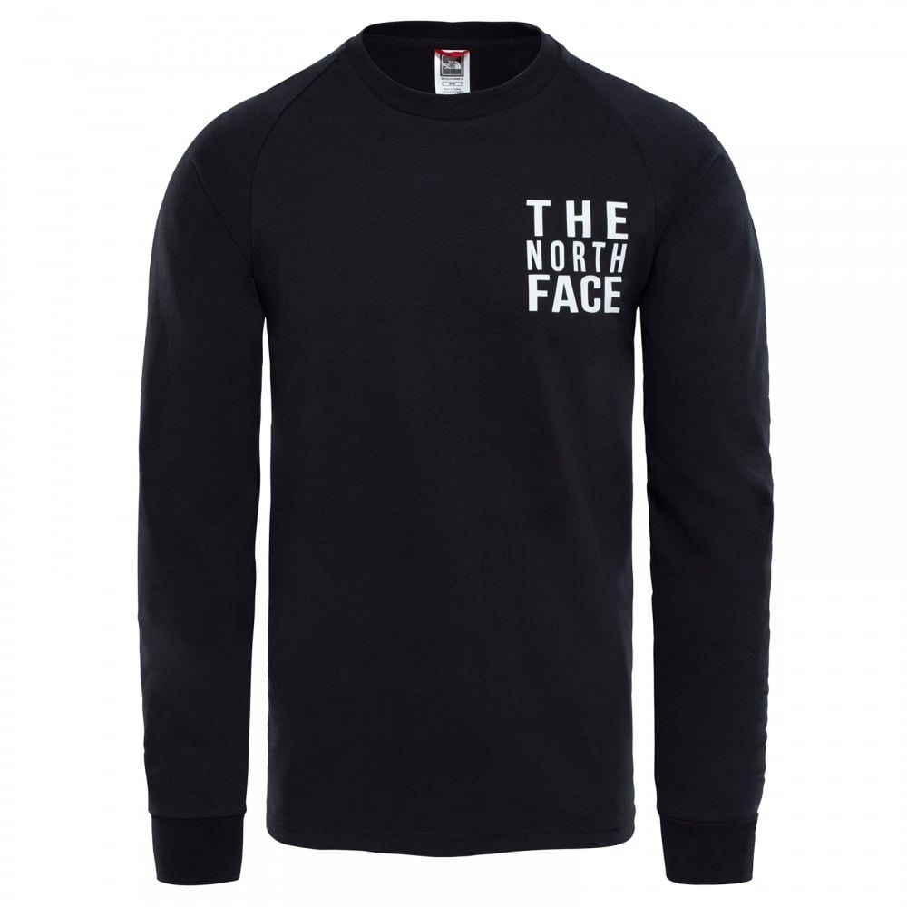 25e347e23 Mens Ones Long Sleeve T-Shirt TNF Black
