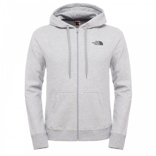 d8389cf58 The North Face Mens Open Gate Full Zip Hoodie Heather Grey - Mens ...