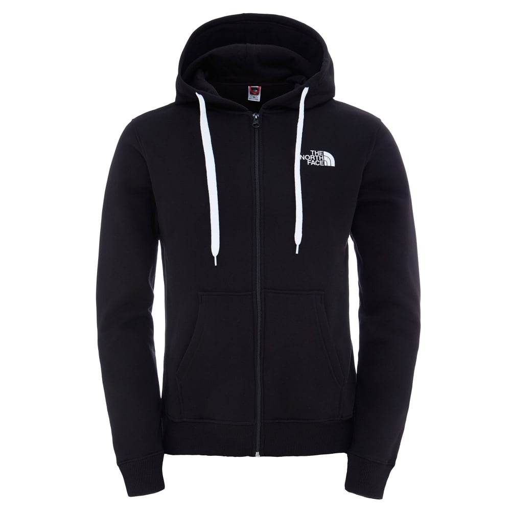 9a353e1e5 The North Face Mens Open Gate Full Zip Hoodie TNF Black - Mens from ...