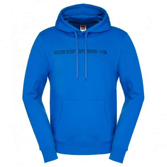 The North Face Mens Open Gate Hoodie Snorkel Blue