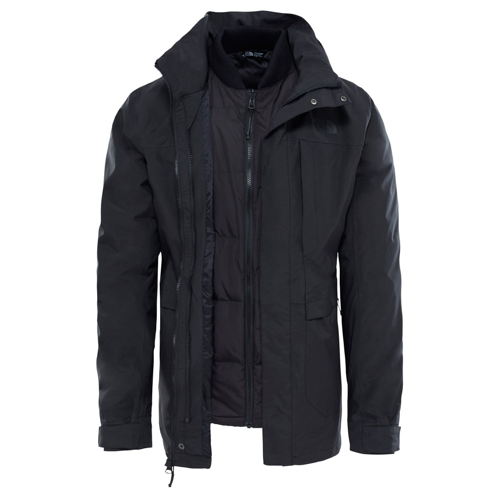 9632de71d348 The North Face Mens Outer Boro Triclimate Jacket Black - Mens from ...