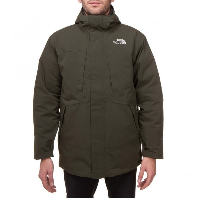 the north face mens overcaster triclimate 3in1 jacket in green rh greatoutdoorssuperstore co uk