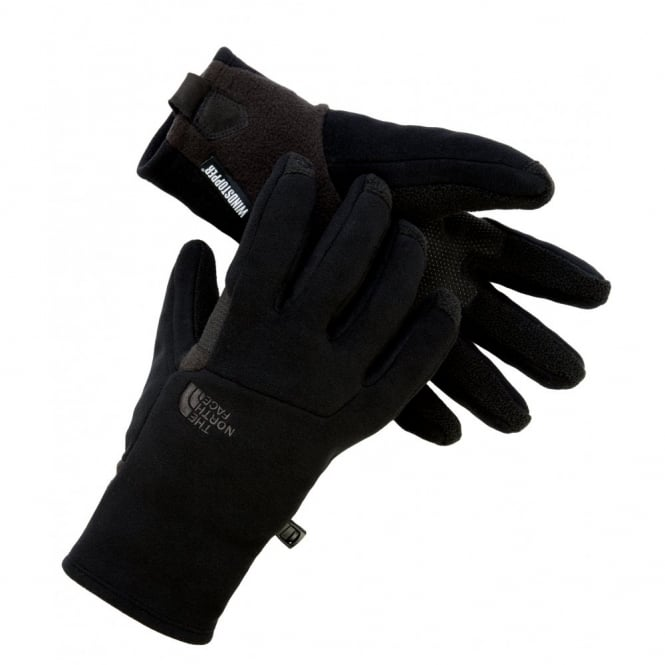 The North Face Mens Pamir Windstopper Etip Glove Black - Mens from ... 946af58f64e1