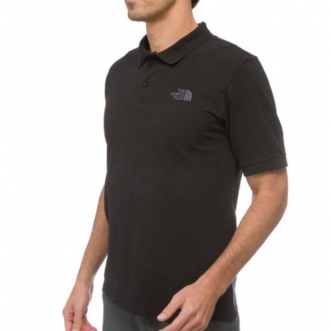 style mody przystojny słodkie tanie The North Face Mens Polo Piquet T-Shirt Black